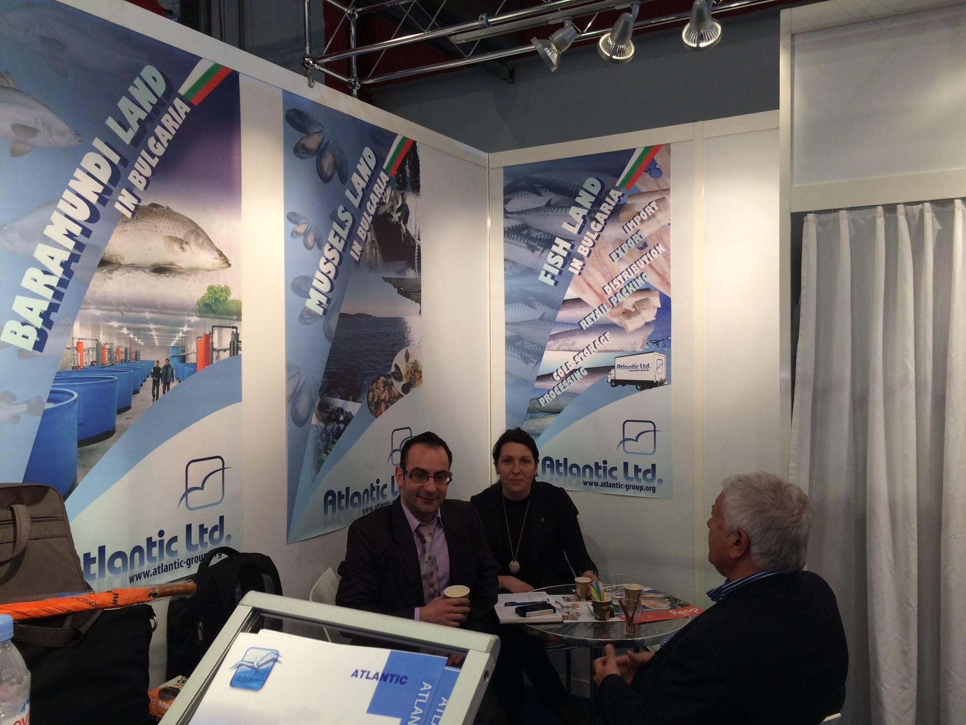 Световно Рибно изложение - Брюксел 2014